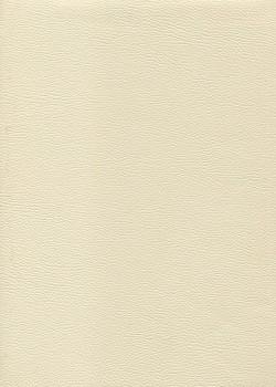 """Simili cuir """"Mappa"""" blanc cassé (70x100)"""