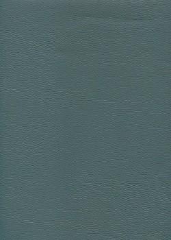"Simili cuir ""Mappa"" bleu pétrole (70x100)"