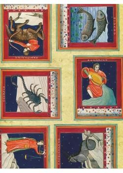 Les signes du zodiaque (45x65)