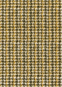 Tweed jaune marron (66x100)