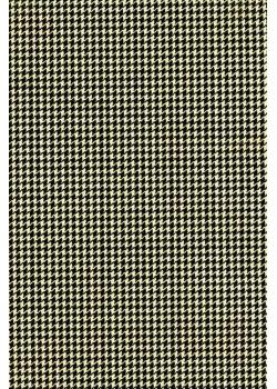 Pied de poule noir fond beige (50x70)