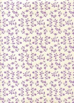 """Florence"" Tiepolo semis mauve (50x70)"