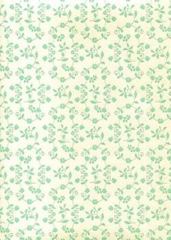 """""""Florence"""" Tiepolo semis turquoises (50x70)"""