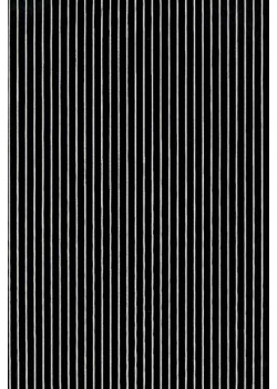 Rayures blanc fond noir (50x70)