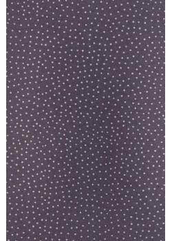 Petits pois blanc fond gris (50x70)