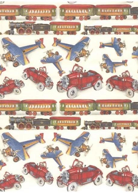 Les trains avions voitures (70x100)