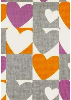Coeurs en méli mélo (70x100)