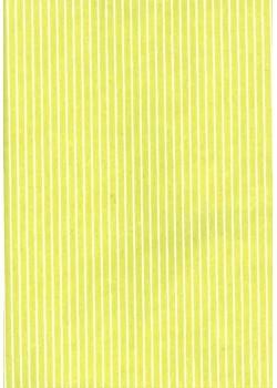 Rayures blanc fond anis (50x70)