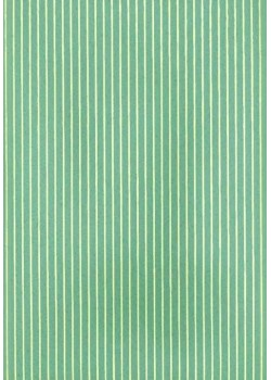 Rayures crème fond vert (50x70)*