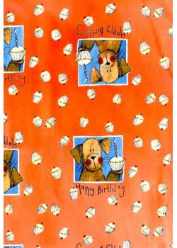 Le gâteau du chien (50x70)