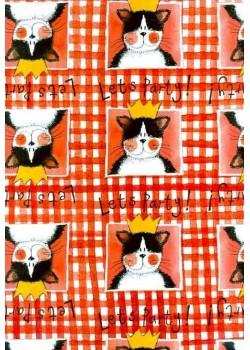 La fête du chat (50x70)