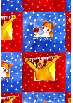 Chien et chat à la fenêtre (50x70)*