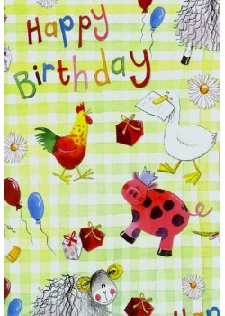 Happy birthday à la ferme (50x70)