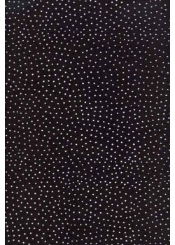 Petits pois blanc fond noir (50x70)