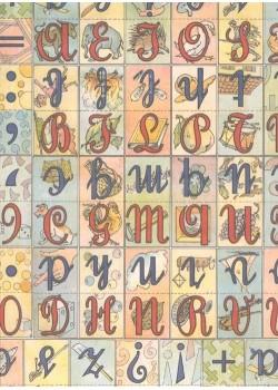 Alphabet cube enfant (70x100)
