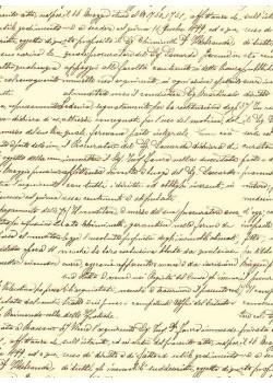 Ecriture en ligne marron (70x100)