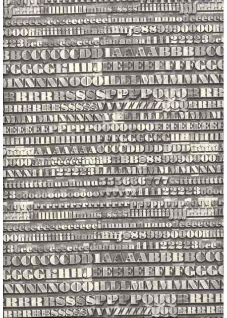 Le typo gris (70x100)
