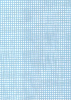 Sweety vichy bleu pâle (48x68)*