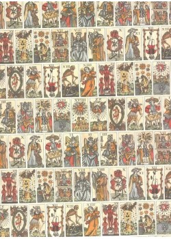 Le jeu de tarot (70x100)
