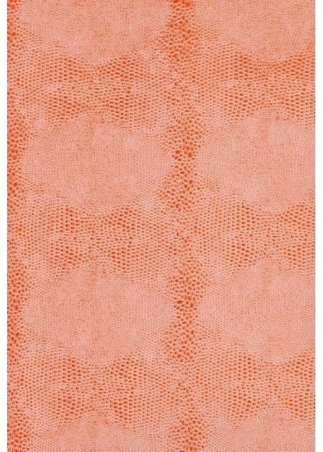 Papier imitation Lézard rose orangé (70x100)