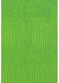 """Papier imitation Croco """"vert printemps"""" (70x100)"""