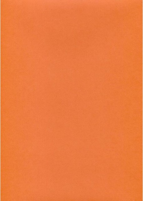 "Effalin ""grain toilé"" mandarine (70x100)"