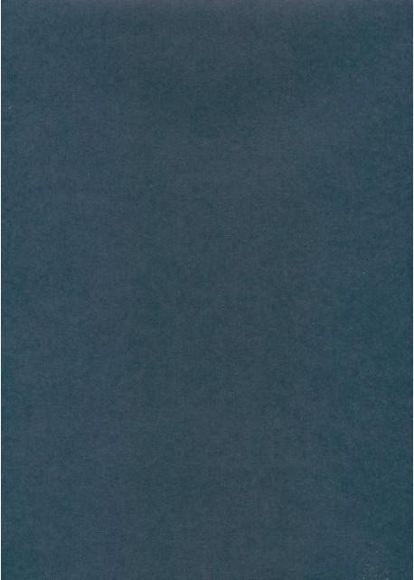 "Effalin ""grain toilé"" bleu saphir (70x100)"