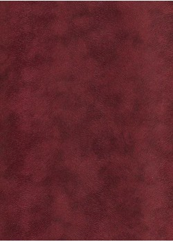 Simili cuir velours Pelage bordeaux (70x100)