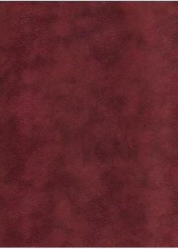 Simili cuir velours Pelage bordeaux (70x100)