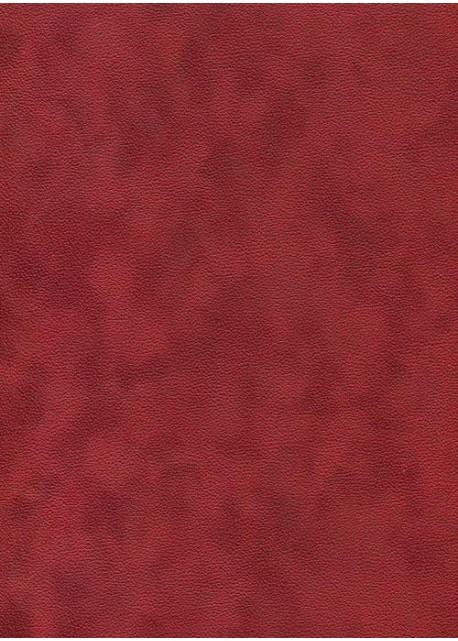 Simili cuir velours Zeste rouge cerise (70x100)