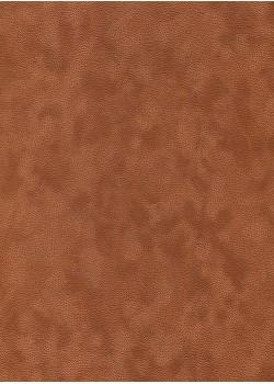 Simili cuir velours Zeste roux (70x100)