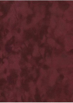 Simili cuir velours Zeste bordeaux (70x100)