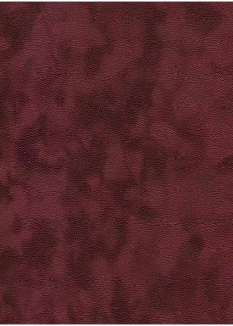 Simili cuir velours Zeste bordeaux (70x100)