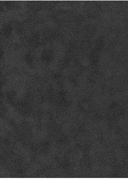 Simili cuir velours Zeste noir (70x100)