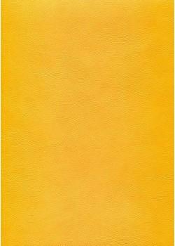 """Simili cuir """"Buffalo"""" jaune (70x100)"""