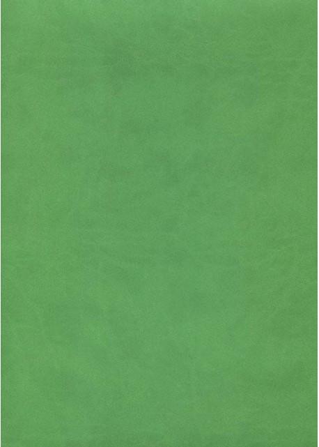 """Simili cuir """"Buffle lisse"""" vert tendre (70x100)"""
