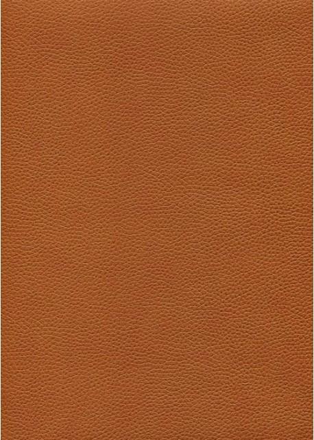 """Simili cuir """"Buffle grainé"""" terracotta (70x100)"""
