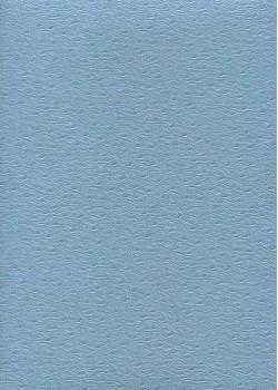 """Simili cuir Skivertex """"Autruche"""" bleu ciel"""
