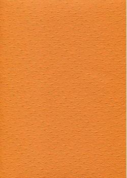 "Simili cuir Skivertex ""Autruche"" mandarine"