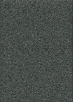 """Simili cuir Skivertex """"Autruche"""" gris foncé"""
