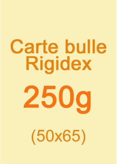 Carte bulle Rigidex (250g) 50x65cm