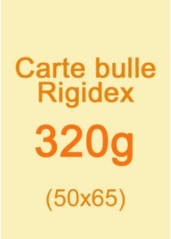Carte bulle Rigidex (320g) 50x65cm
