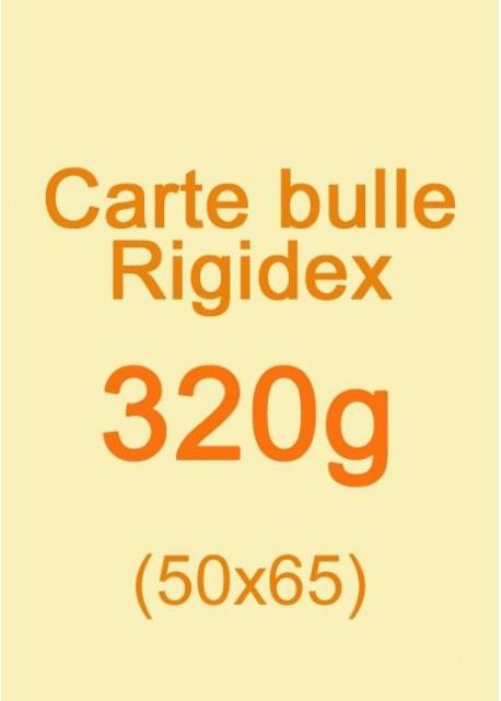 Carte bulle Rigidex (320g) 50x65cm