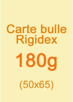 Carte bulle Rigidex (180g) 50x65cm