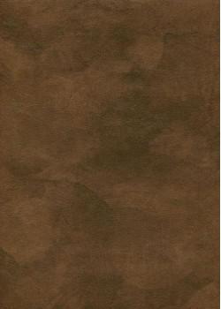 """Simili cuir """"Chagrin"""" brun Chesterfield (70x100)"""