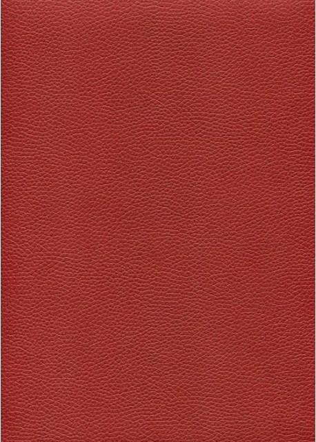 "Simili cuir ""Buffle grainé"" rouge (69x100)"