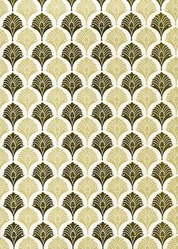 """""""Florence"""" Caravage beige et marron (50x70)"""