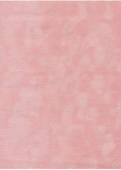 Simili cuir velours Zeste rose (70x100)