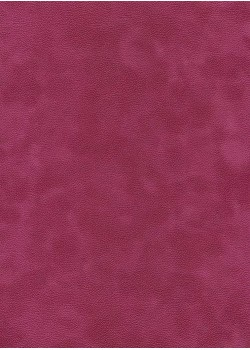 Simili cuir velours Zeste fushia (70x100)