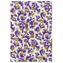 Venise style florentin - violet réhaussé or (70x100)